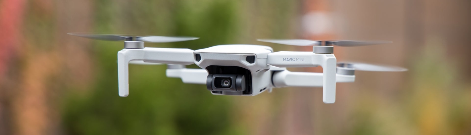 Drone used in home inspection