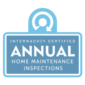 Annual home maintenance inspection logo