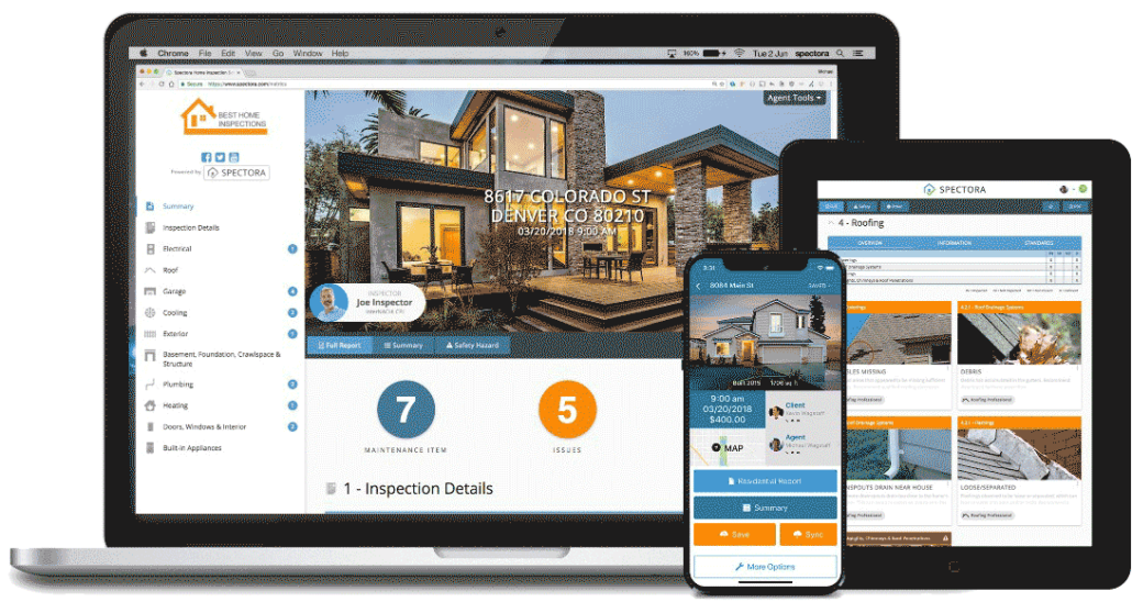 Spectora Home InspectionReport