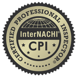 CPI InterNACHI Certifed Professional Inspection badge